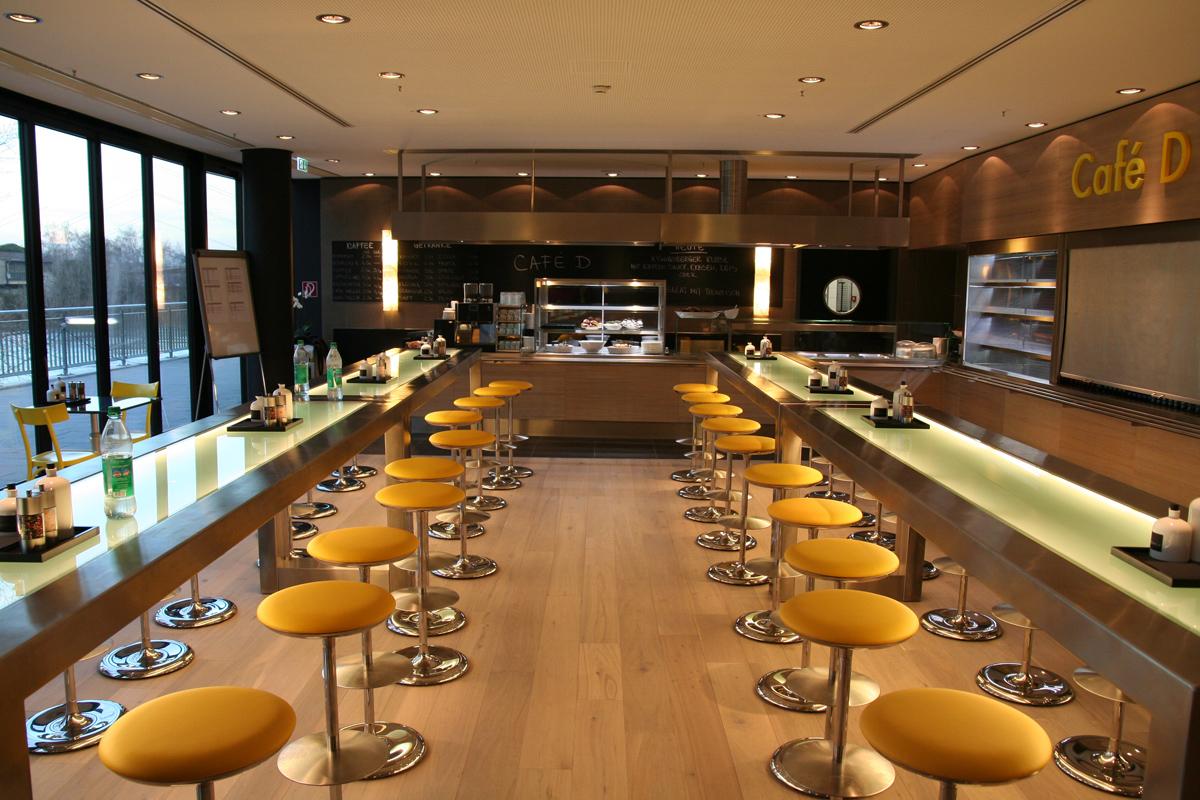 Hyatt Regency Düsseldorf Cafe D