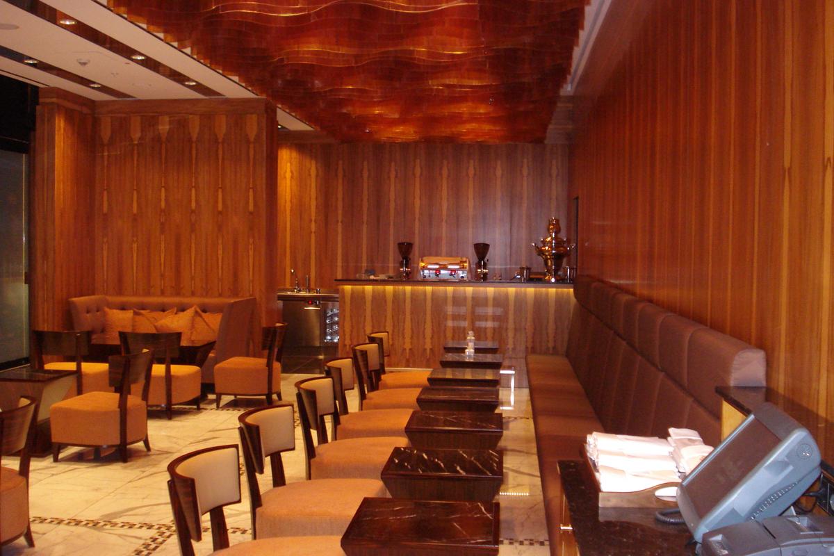 Jumeirah Frankfurt cafe bar