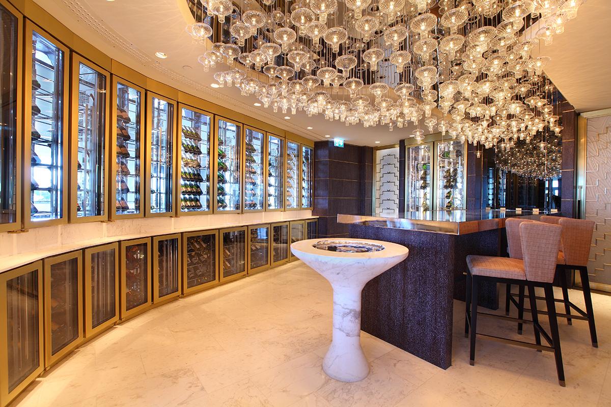 Raffles Zorlu Center IST Champagne Room