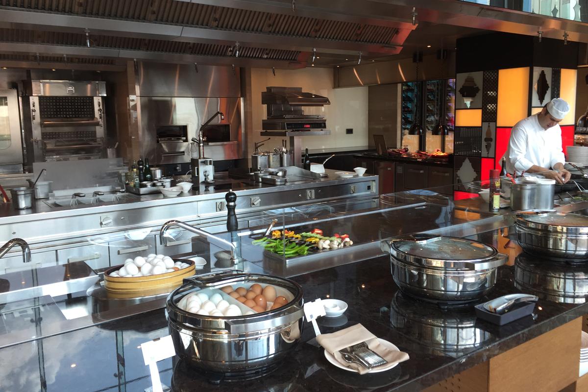 Swissôtel Bosphorus IST Warme Küche